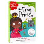 青蛙王子 童话学语音Reading with Phonics The Frog Prince 英文原版绘本 经典童话自
