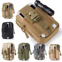 户外运动多功能战术腰包男5.5-6寸大屏手机穿皮带挂包大容量