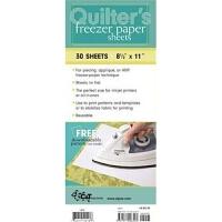 """预订Quilter's Freezer Paper Sheets:30 Sheets, 8 1/2"""" x 11"""""""