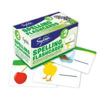 全店满300减100】进口原版Second Grade Spelling Flashcards 卡片盒装 Sylvan
