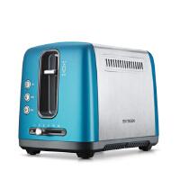 北鼎 BUYDEEM D612新款不锈钢多士炉 家用烤面包机早餐机 彩色系列2槽2片桔梗蓝