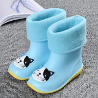 �和�雨鞋男童女童����雨靴小童水鞋1-3�q�胗�悍阑�水靴四季通用