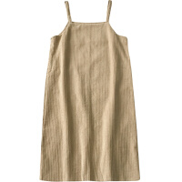 小个子温柔风裙子秋冬装女新款韩版灯芯绒吊带气质连衣裙学生 均码