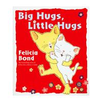 英国进口正版 英文绘本Big Hugs, Little Hugs一起来拥抱 充满友爱温馨有趣故事绘本平装7岁+