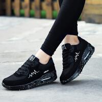 【跨店满200减100】奇安达女士慢跑鞋女士气垫减震运动休闲跑步鞋慢跑鞋增高鞋