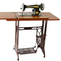 老式缝纫机家用电动升级款台式脚踩平车厚薄面料多款组合