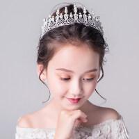 皇冠�^��和��^�女童生日走秀演出�l箍花童�⒑0l�婚�配�童�皇冠�b�MYZQ61 白色