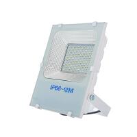 LED投光灯射灯户外防水COB路灯室外照明白金刚投光灯