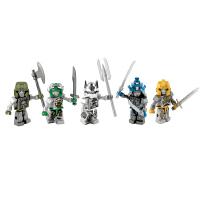 [当当自营]Hasbro 孩之宝 酷垒 变形金刚积木 银骑士版汽车人 儿童益智积木拼插玩具 A8602
