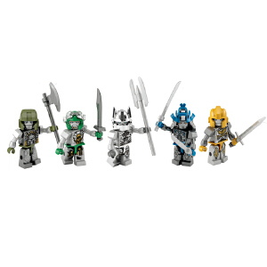 Hasbro 孩之宝 酷垒 变形金刚积木 银骑士版汽车人 儿童益智积木拼插玩具 A8602