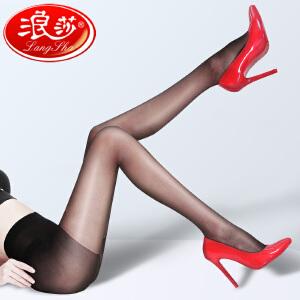 【4双装】浪莎丝袜连裤袜防勾丝春秋超薄款打底袜肉色丝袜子女夏季