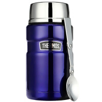 【当当自营】膳魔师THERMOS 焖烧罐焖烧杯710ml高真空不锈钢sk-3020-db