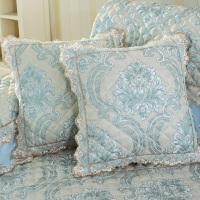 四季通用沙发垫抱枕套布艺简约现代抱枕靠垫午睡枕