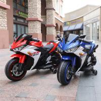 儿童电动摩托车可坐大人男女孩两轮双人可充电超大号玩具车2-10岁