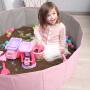 儿童决明子玩具沙池套装宝宝室内沙滩玩具池家用玩沙子池挖沙铲子