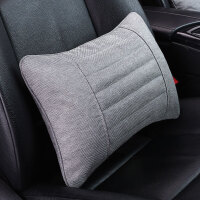 汽车腰靠护腰靠垫车内座椅腰靠车用靠枕腰枕车载头枕抱枕套装用品