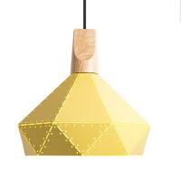 瑷洛特LOFT 美式漫咖啡厅铁艺吊灯 创意卧室书房餐厅实木装饰灯