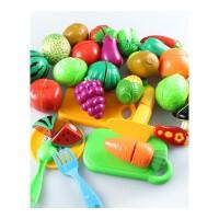 儿童切菜玩具 儿童切切乐切切看套装幼儿厨房可切水果蔬菜玩具切菜切西瓜