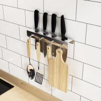 304不锈钢简易刀架厨房用品厨房置物架壁挂收纳架挂钩 简易刀架