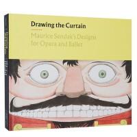 进口原版 绘本大师莫里斯桑达克作品歌剧与芭蕾的设计 Drawing the Curtain