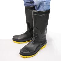 骑安雨鞋男士水鞋雨靴男款防滑防水高筒中筒钓鱼塑胶套鞋胶鞋