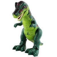 文盛 电动恐龙玩具 仿真恐龙 男孩玩具逼真会走路有声光 霸王龙5302