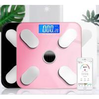 电子称体重秤家用小型智能充电测脂肪仪精准人体减肥称重体脂称女