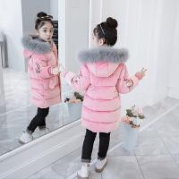 女童冬装2018新款中大童韩版洋气秋冬季棉袄儿童加厚外套棉衣