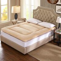 加厚9CM保暖羊羔绒床垫榻榻米加厚学生宿舍双单人床褥1.5m1.8米垫子