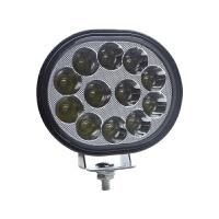 踏板摩托车led射灯三轮电瓶电动车灯防水超亮外置前大灯泡12v强光