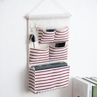 宿舍上铺床头可挂墙上的收纳袋挂袋墙挂式寝室置物布袋 中号_加一件减4元_