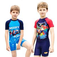 中大童宝宝游泳衣儿童泳衣男童连体分体短袖泳装