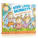 Five Little Monkeys Play Hide and Seek五只小猴子 Eileen Christel