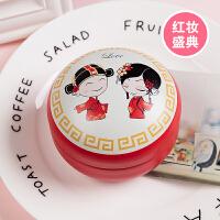 2019新款结婚礼盒创意婚庆马口铁包装空盒抖音同款喜糖盒子中国风