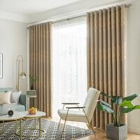 窗帘成品客厅卧室遮光简约现代北欧轻奢高档大气2019新款轻奢全布