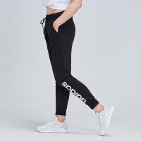 adidas阿迪达斯NEO女裤2019春季新款长裤运动裤休闲裤DW7950
