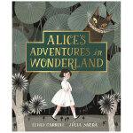 【预订】爱丽丝漫游仙境 Alice in Wonderland 西班牙插���� Júlia Sardà 英文原版 进口儿