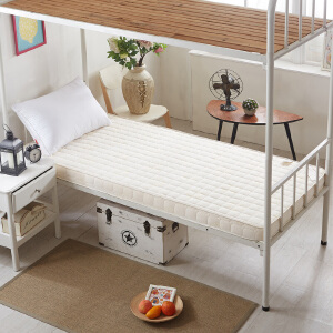 【领券立减100】宿舍床垫子学生海绵垫加厚记忆棉单人床上下铺床褥0.91.2m1米双人1.5/1.8米床垫