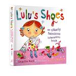 Lulu's Shoes 露露的鞋子 精装 英文原版故事图画操作书 幼儿启蒙 好看能玩的书 露露大明星系列