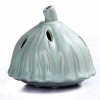 尚帝 莲蓬造型熏香炉 汝窑香炉 熏香炉陶瓷BH2014-267A