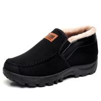 男鞋冬季保暖加绒加厚中老年爸爸棉鞋舒适老人棉靴