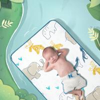 babycare婴儿床苎麻凉席儿透气新生夏季可机洗的宝宝儿童床凉席
