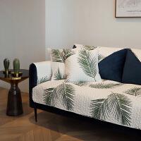 夏日 防滑沙发盖巾全棉布艺沙发垫 套罩坐垫 四季通用 可定制 夏日