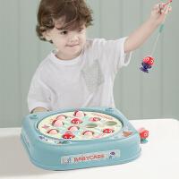 babycare儿童小猫钓鱼电动1-2-3岁宝宝早教益智小孩男孩女孩玩具