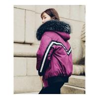 棉袄女新款冬天徐海乔同款加厚宽松bf夹克羽绒服棉衣外套