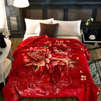 冬季双层加厚保暖云毯天丝毯法兰绒毛毯子被子珊瑚绒毯盖毯床双人定制