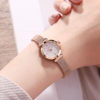 手表女款钢带手链表潮流时尚小巧表盘女士手表简约迷你女表