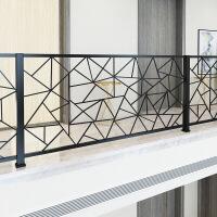 铁艺阳台护栏杆实木楼梯扶手装饰简约现代家用室内外阳台阁楼围栏