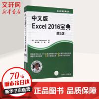 中文版 Excel 2016 宝典(第9版)精通EXCEL书籍 excel指南 excel书籍 excel函数 透视工