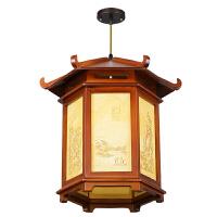 中式仿古宫灯过道阳台茶楼广告户外防水灯笼吊灯